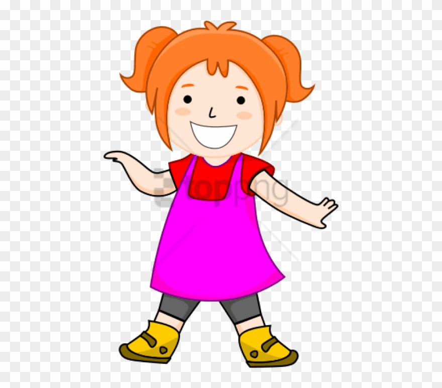 Healthy girl clipart clipart black and white library Free Png Children Png Clipart Png Image With Transparent ... clipart black and white library