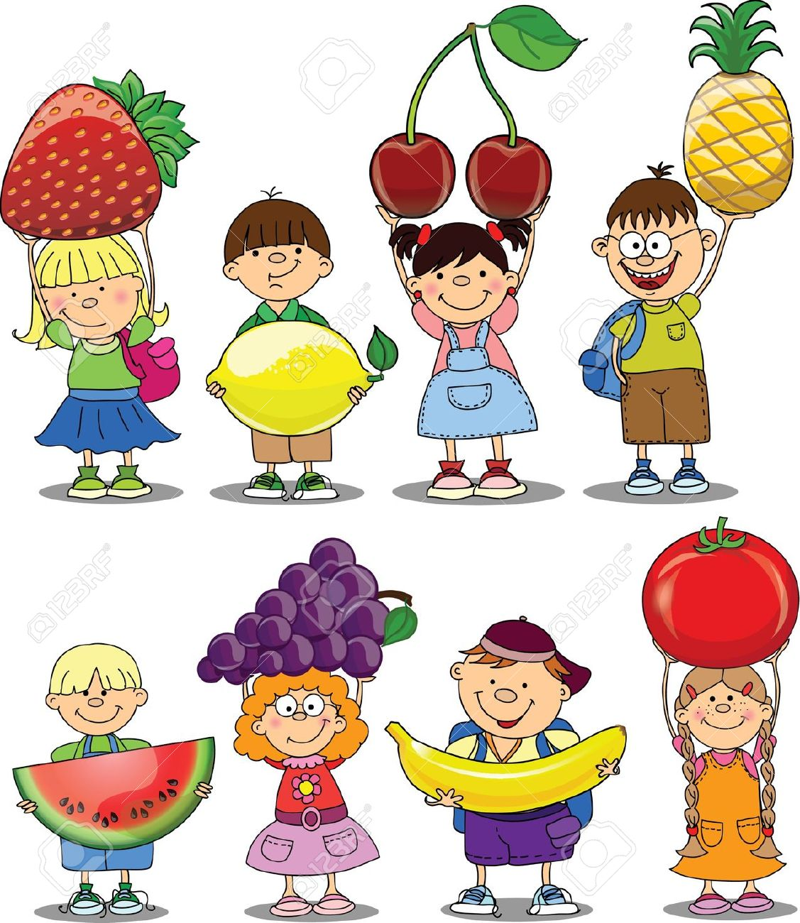 Healthy kids clipart graphic library download Kids Eating Healthy Clipart | Free download best Kids Eating ... graphic library download