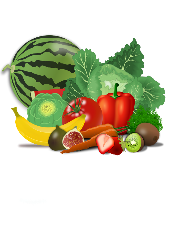 Healthy living apple clipart clip library download Healthy Clipart | FOOD, VEGETABLES & FRUIT ILLUSTRATIONS | Pinterest ... clip library download