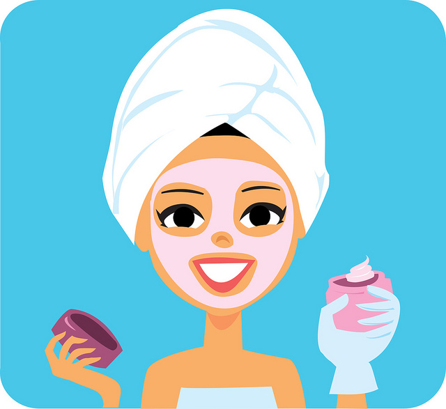 Healthy skin clipart clip black and white stock DIY Skin Care Routine for All Skin Type | Beauty Tips By Sud clip black and white stock