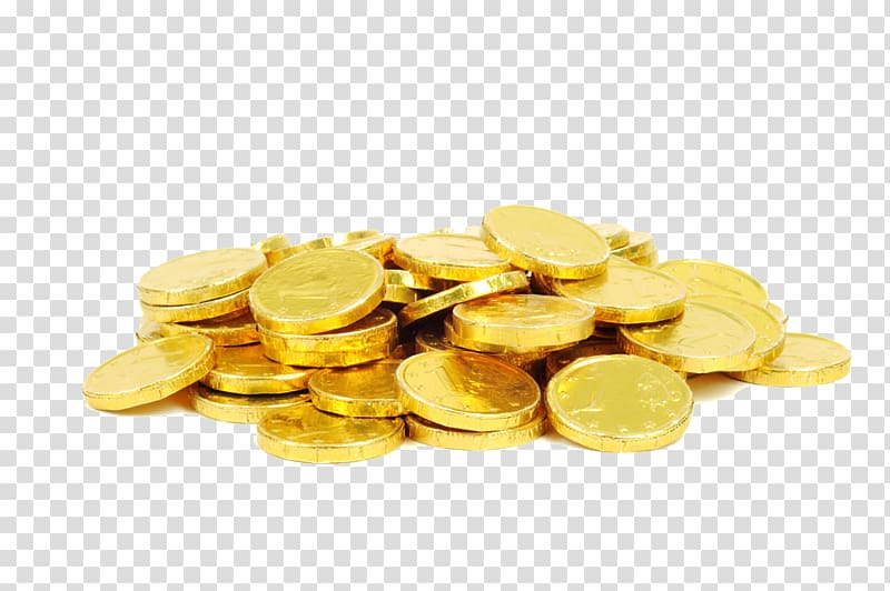 Heap of clipart gold coins transparent background vector library download Gold-colored coins, Chocolate coin Gold coin Christmas, Pile ... vector library download