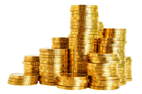 Heap of clipart gold coins transparent background black and white download Gold Coins Stack transparent PNG - StickPNG black and white download