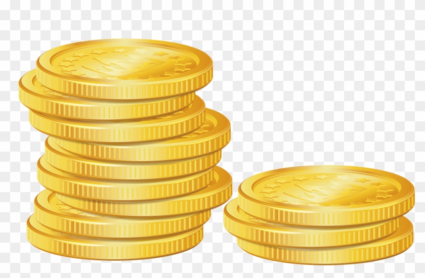 Heap of clipart gold coins transparent background clip art black and white library Pile Of Coins Png Picture - Transparent Coins Png, Png ... clip art black and white library