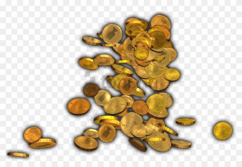Heap of clipart gold coins transparent background picture library Free Png Pile Of Gold Coins Png Png Image With Transparent ... picture library