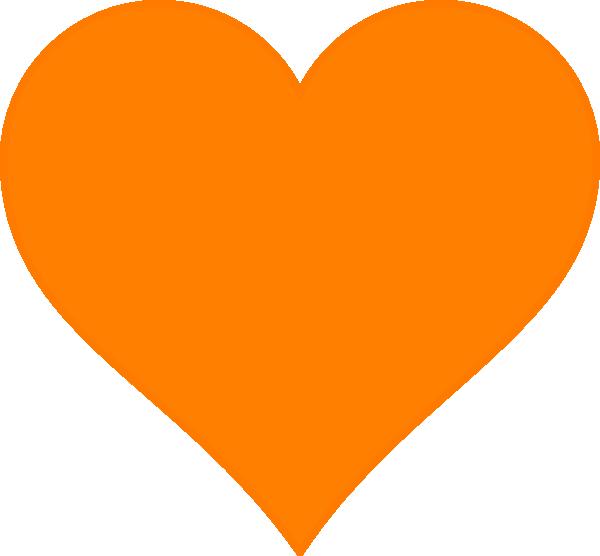 Pumpkin heart clipart vector freeuse stock Pumpkin Heart Clip Art at Clker.com - vector clip art online ... vector freeuse stock