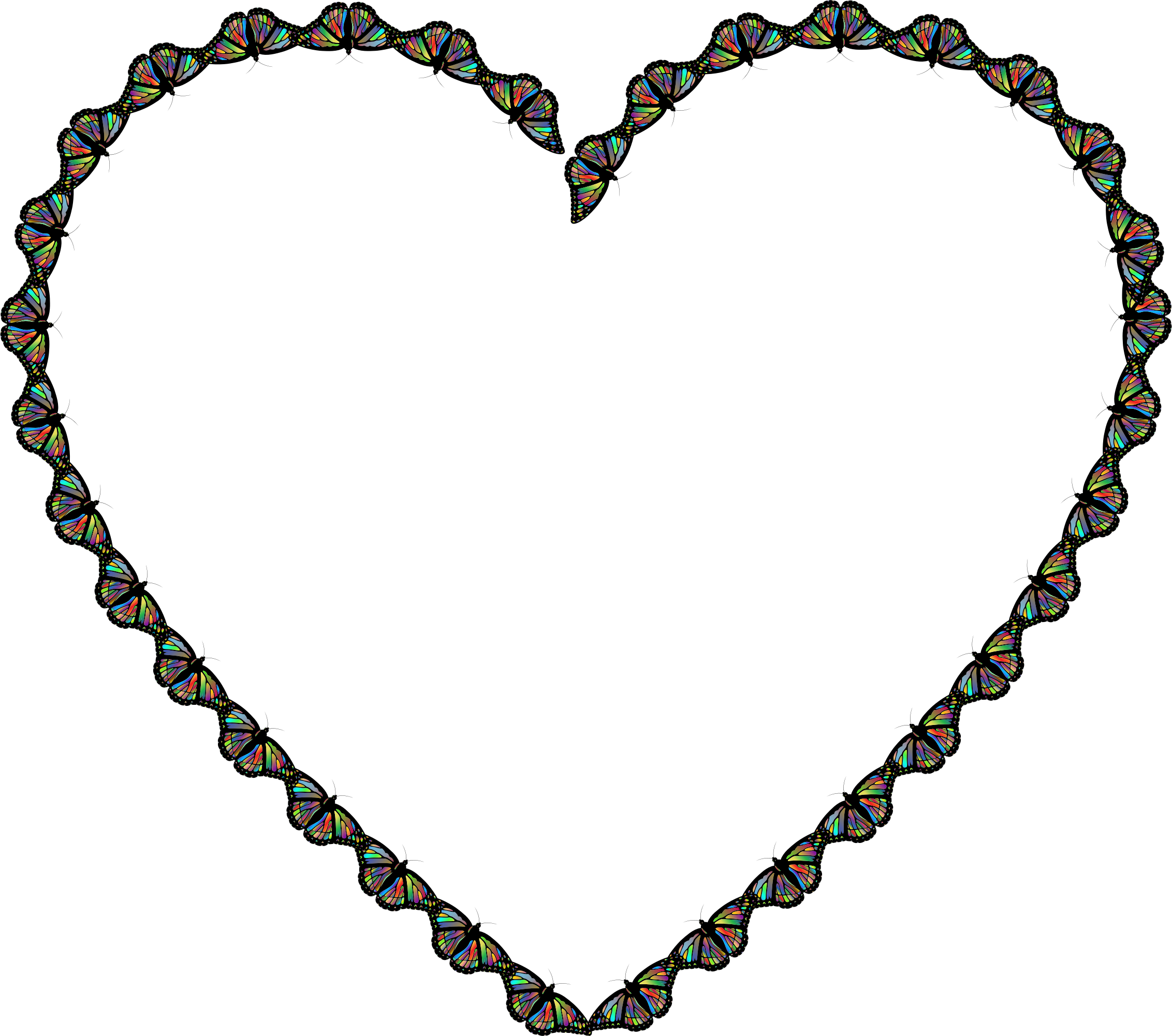 Heart butterfly clipart graphic royalty free stock Butterfly Heart Icons PNG - Free PNG and Icons Downloads graphic royalty free stock