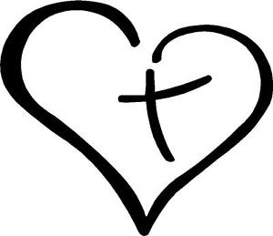 Heart and cross black and white clipart clip library Heart Cross Clipart | Free download best Heart Cross Clipart ... clip library