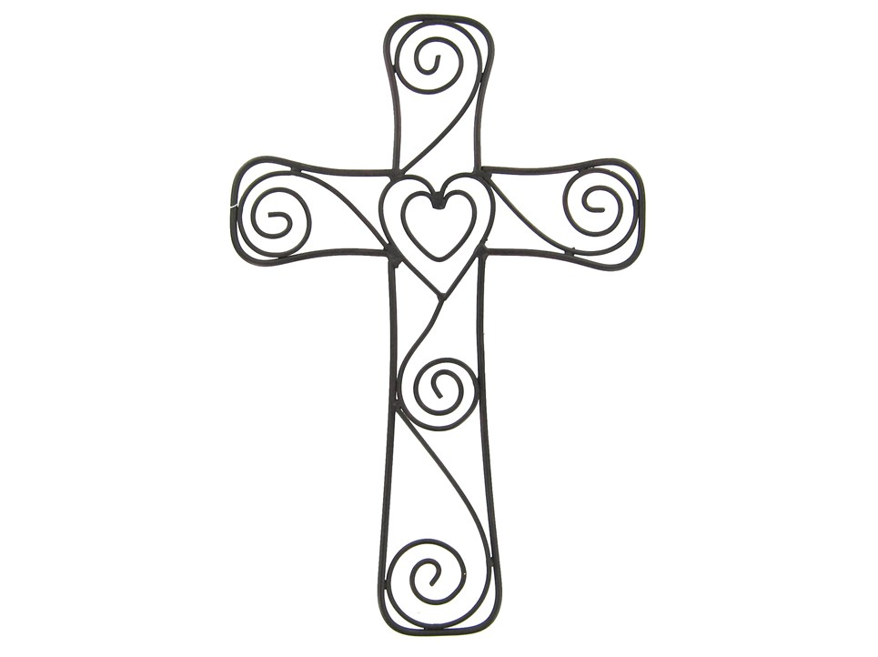 Heart and cross black and white clipart royalty free Cross With Heart Clipart | Free download best Cross With ... royalty free
