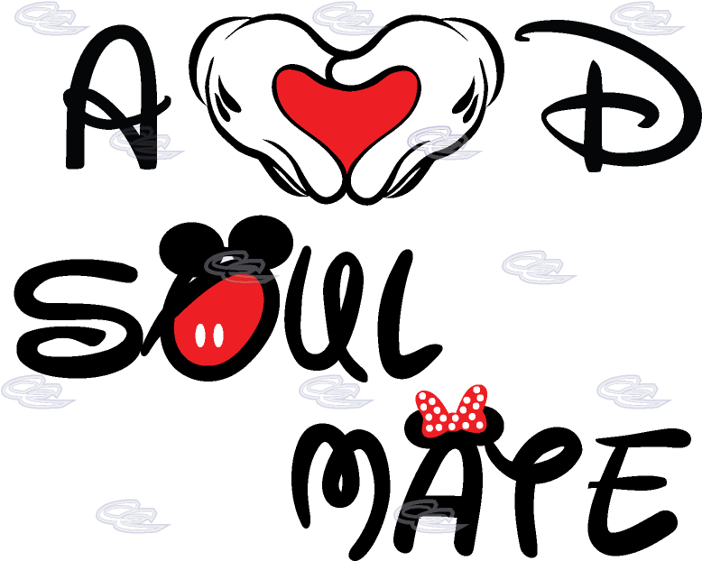 Heart and hand and soul clipart banner freeuse HD Mickey Hand Heart - Soul Mate Mickey Mouse Transparent ... banner freeuse