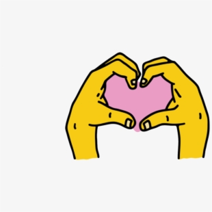 Heart and hand and soul clipart picture royalty free stock Instagram Hand Heart Sticker - Instagram Heart Sticker Png ... picture royalty free stock