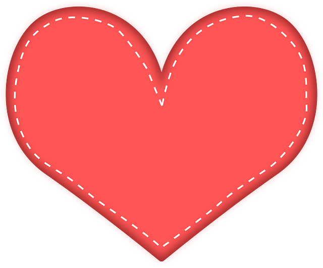 Heart and heart cross free clipart clip library stock Stitches clipart heart ~ Frames ~ Illustrations ~ HD images ~ Photo ... clip library stock