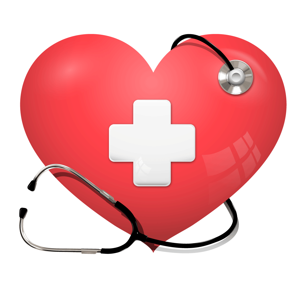 Heart and stethoscope clipart picture black and white library Heart Stethoscope Health Care Cardiology - Red hearts texture ... picture black and white library