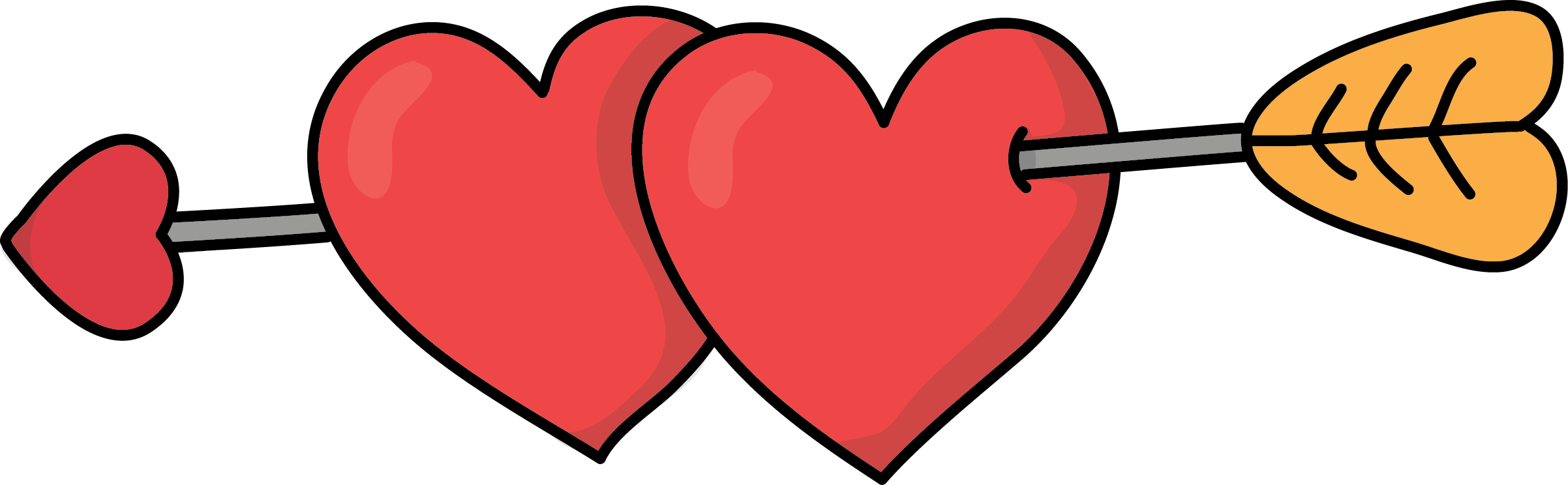 Heart arrow clip art image free Image for free arrow through hearts clip art | Love Clip Art Free ... image free