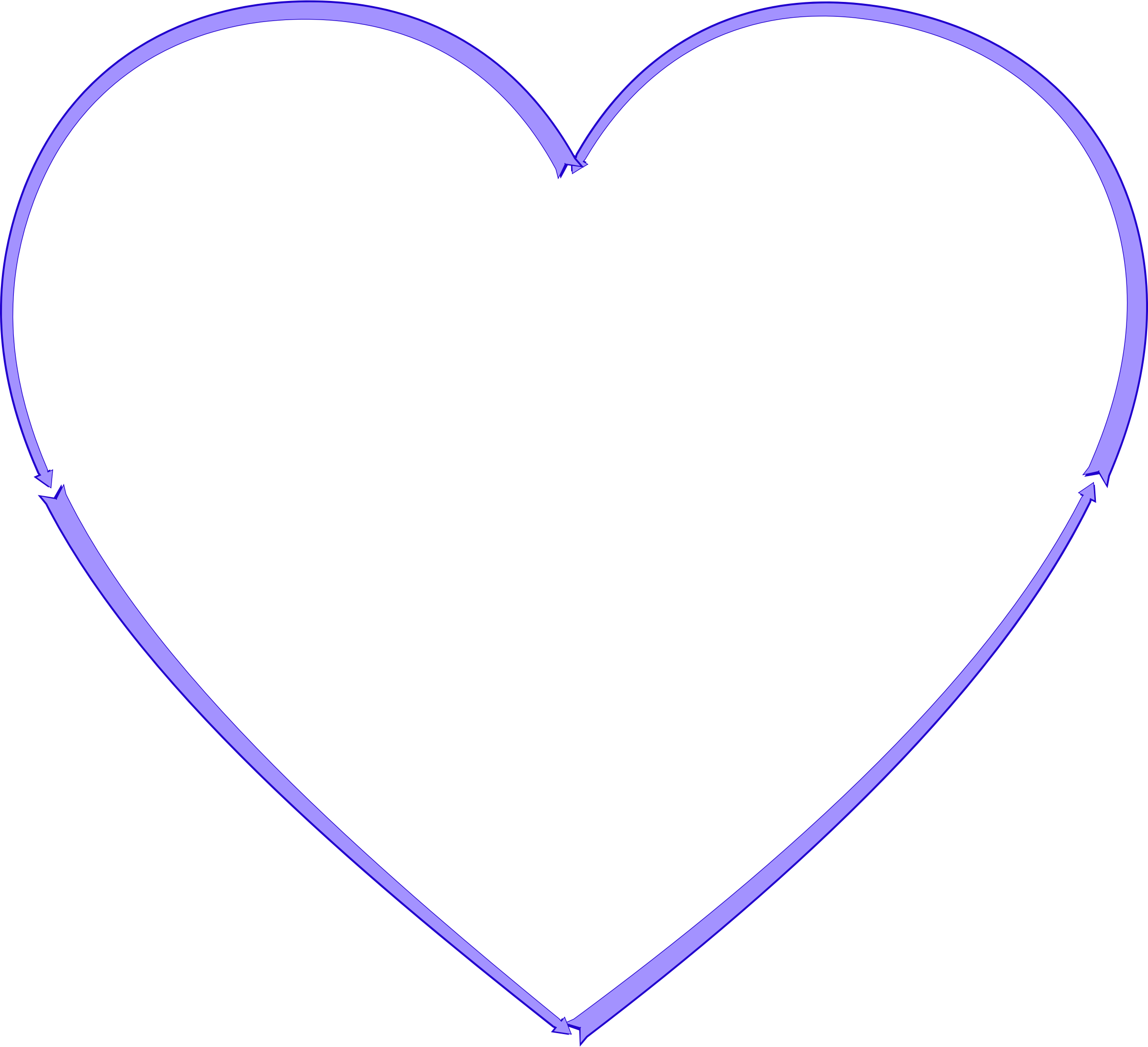Heart arrow clipart banner download Clipart - Arrow Heart 3 banner download