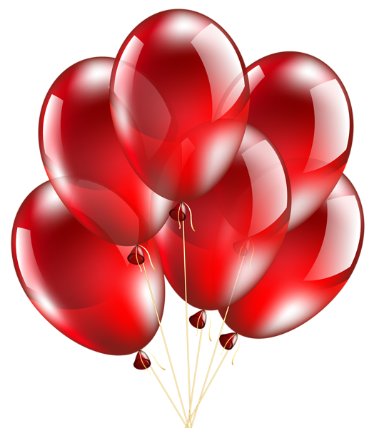 Heart attack clipart clip art transparent Red Balloons Transparent PNG Clip Art Image | Transparent Clip ... clip art transparent