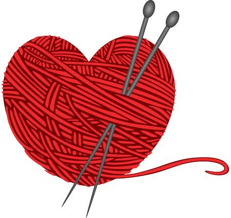 Heart ball of yarn clipart jpg transparent download Heart clip art yarn - 15 clip arts for free download on EEN 2019 jpg transparent download