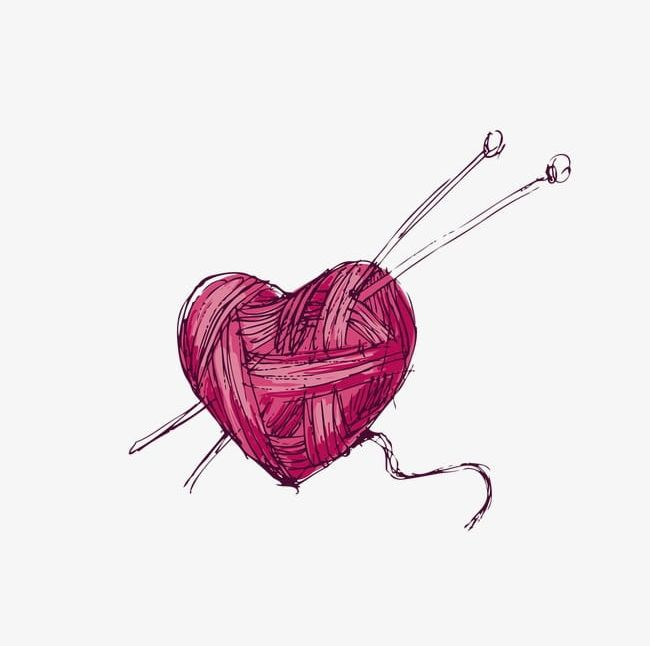 Heart ball of yarn clipart svg transparent download Heart-shaped Ball Of Yarn PNG, Clipart, Ball, Ball Clipart ... svg transparent download