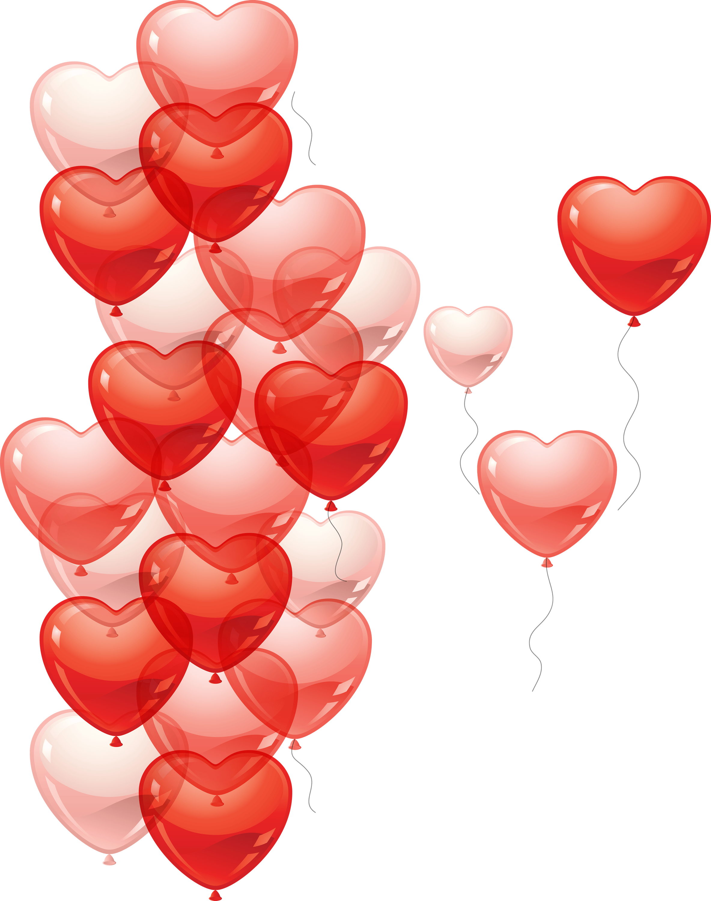 Heart balloons clipart image library library Heart Balloon transparent PNG - StickPNG image library library