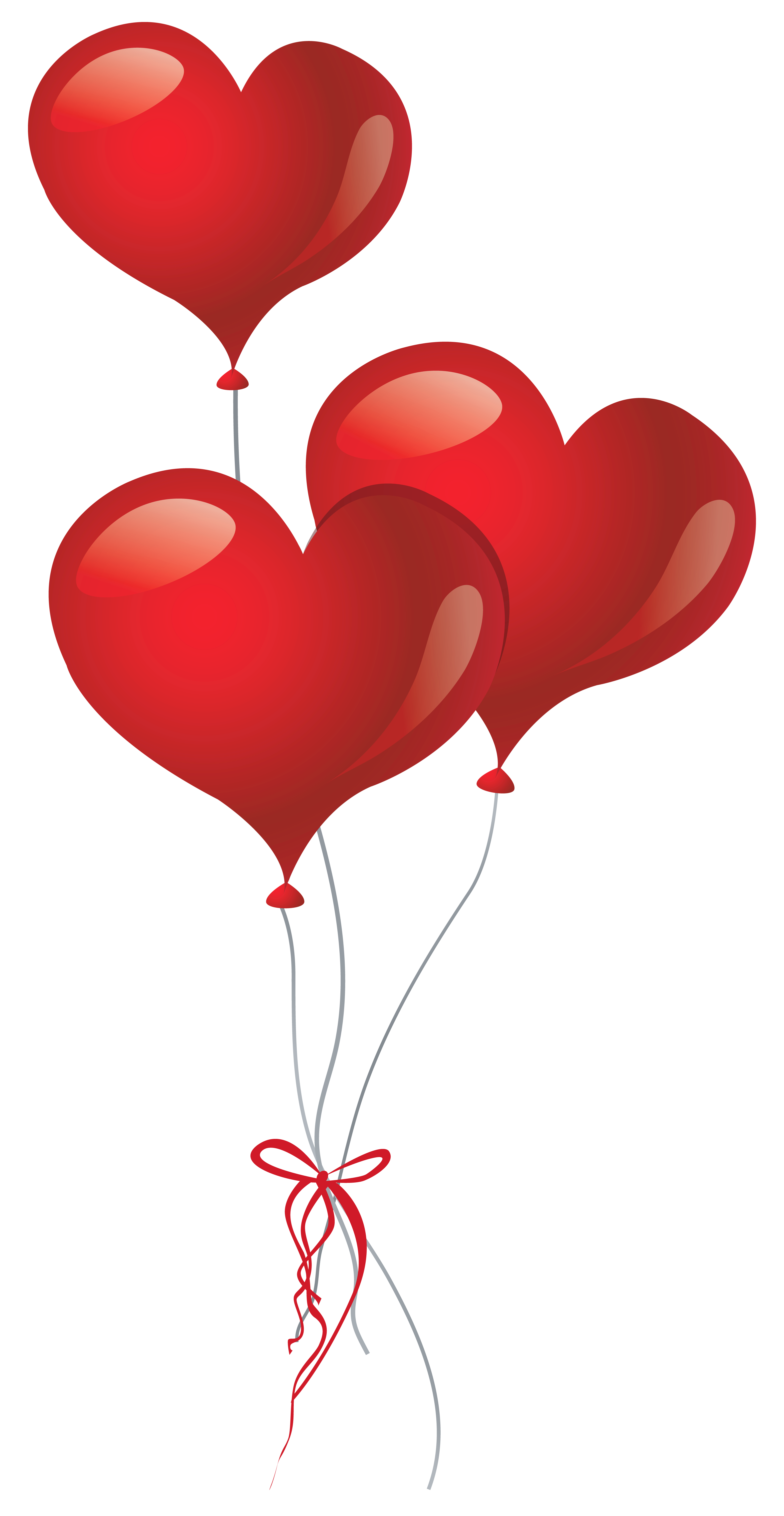 Heart balloons clipart clip art library stock Heart Balloons PNG Clipart Picture | Gallery Yopriceville - High ... clip art library stock