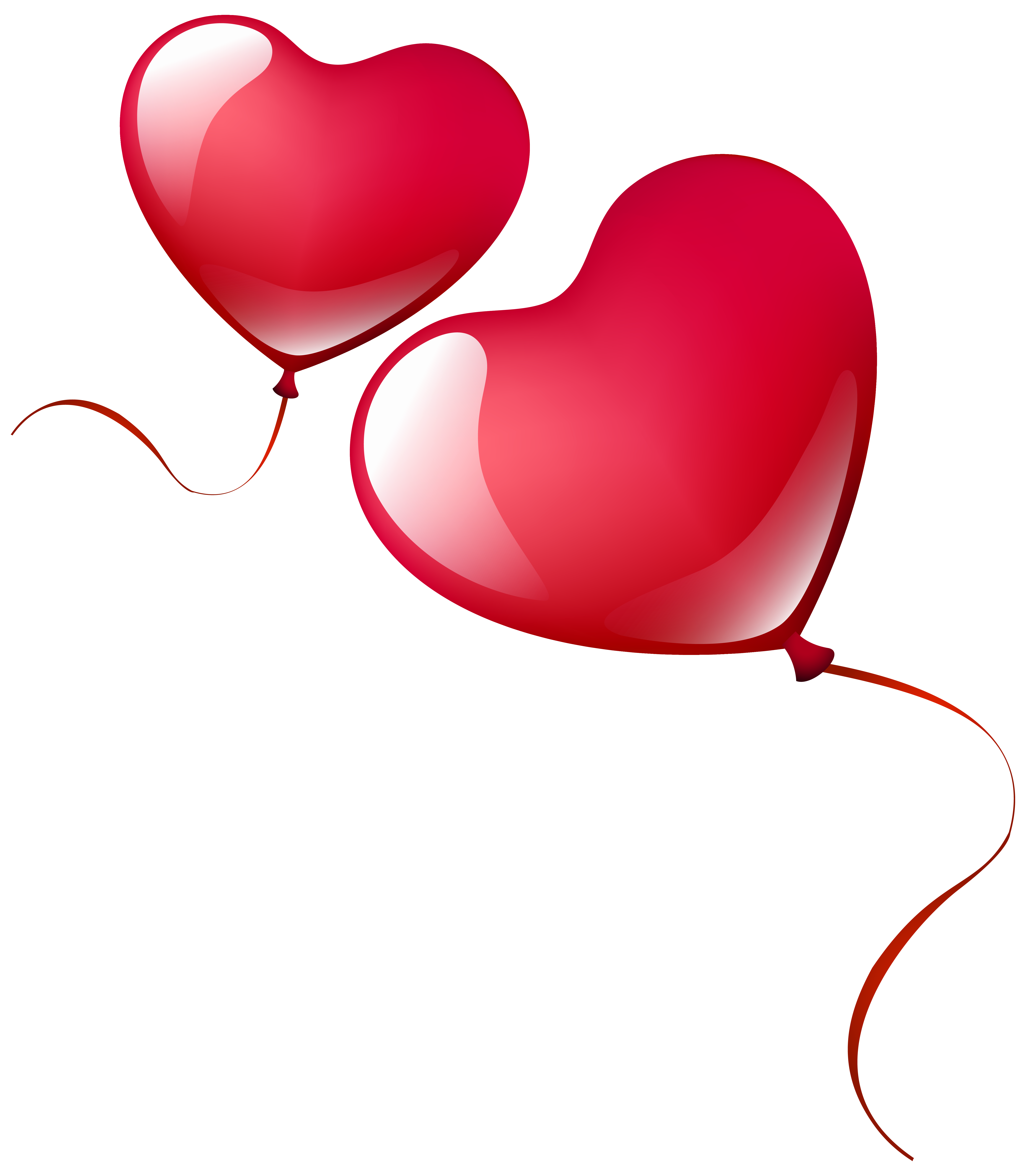 Heart balloons clipart clipart transparent Heart Balloons PNG Clipart Image | Gallery Yopriceville - High ... clipart transparent