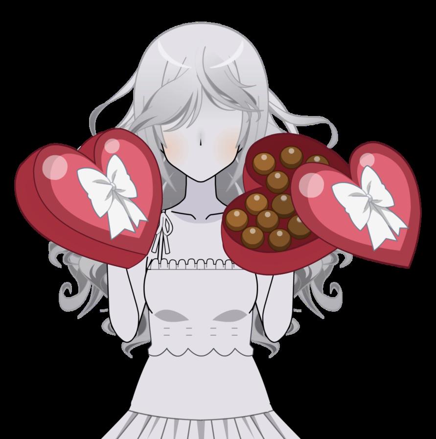 Heart box of chocolates clipart jpg royalty free stock Heart Box of Chocolates [Kisekae Exports] by Idessa on DeviantArt jpg royalty free stock