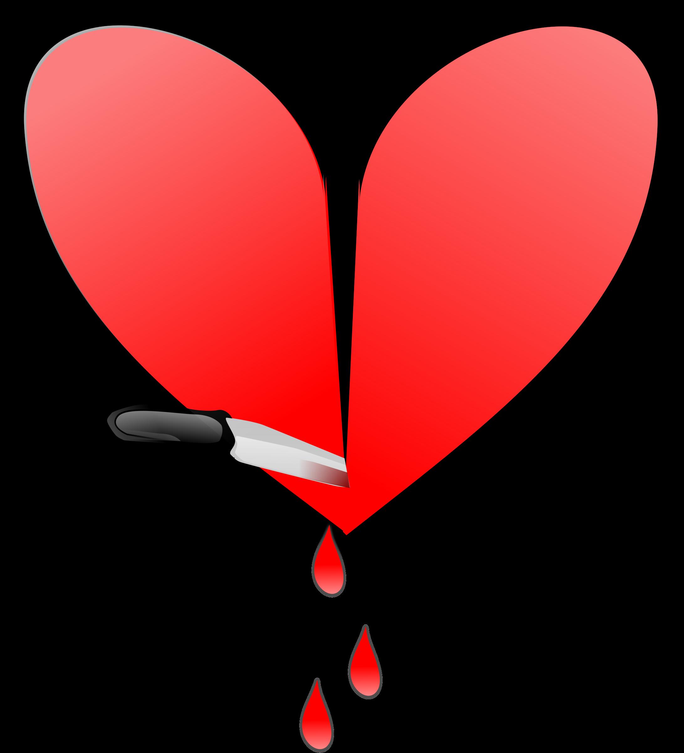 Heart broken clipart transparent Clipart - Broken heart transparent