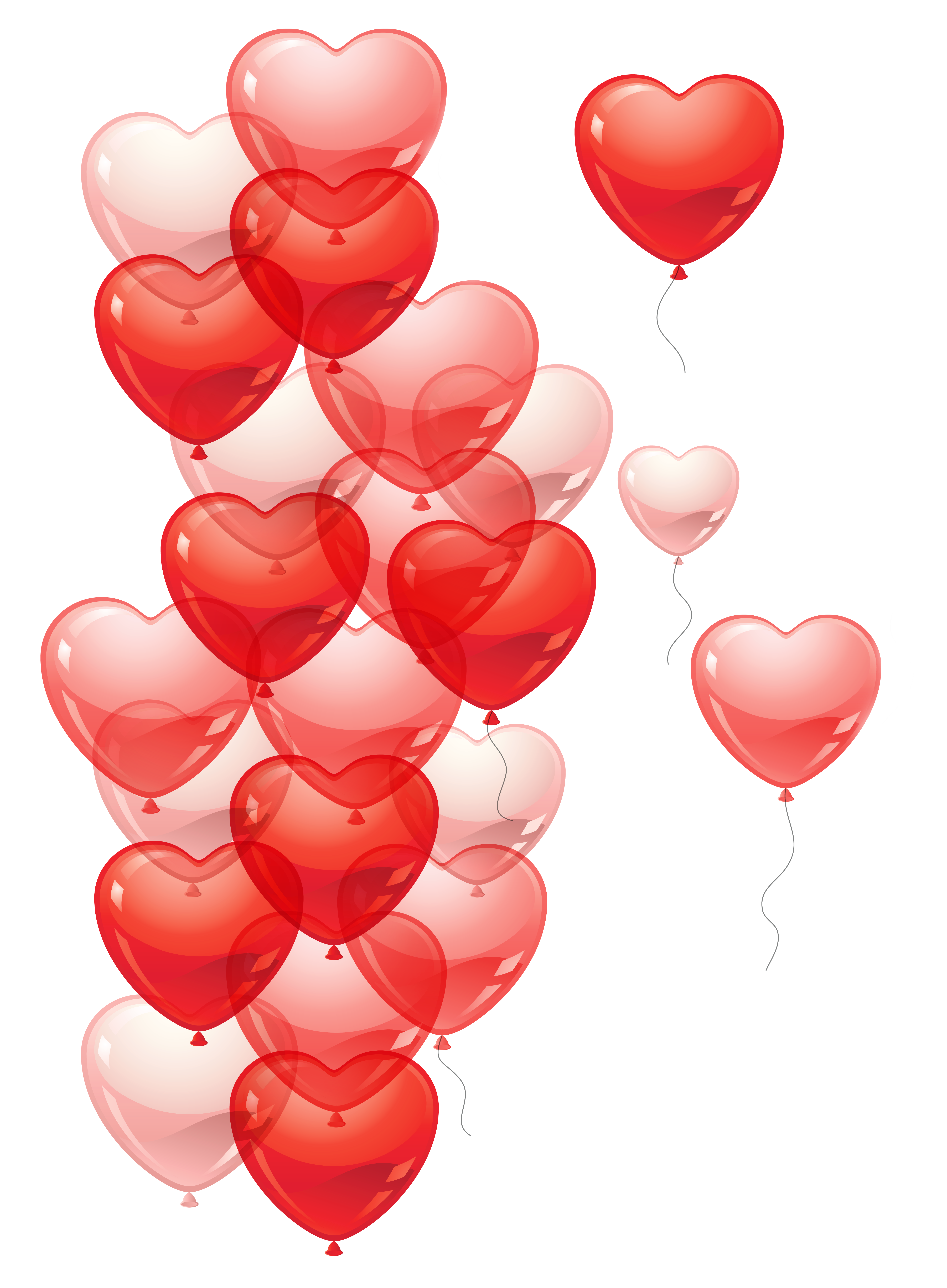 Heart bubbles clipart clip art black and white Transparent Heart Baloons PNG Picture | Gallery Yopriceville - High ... clip art black and white