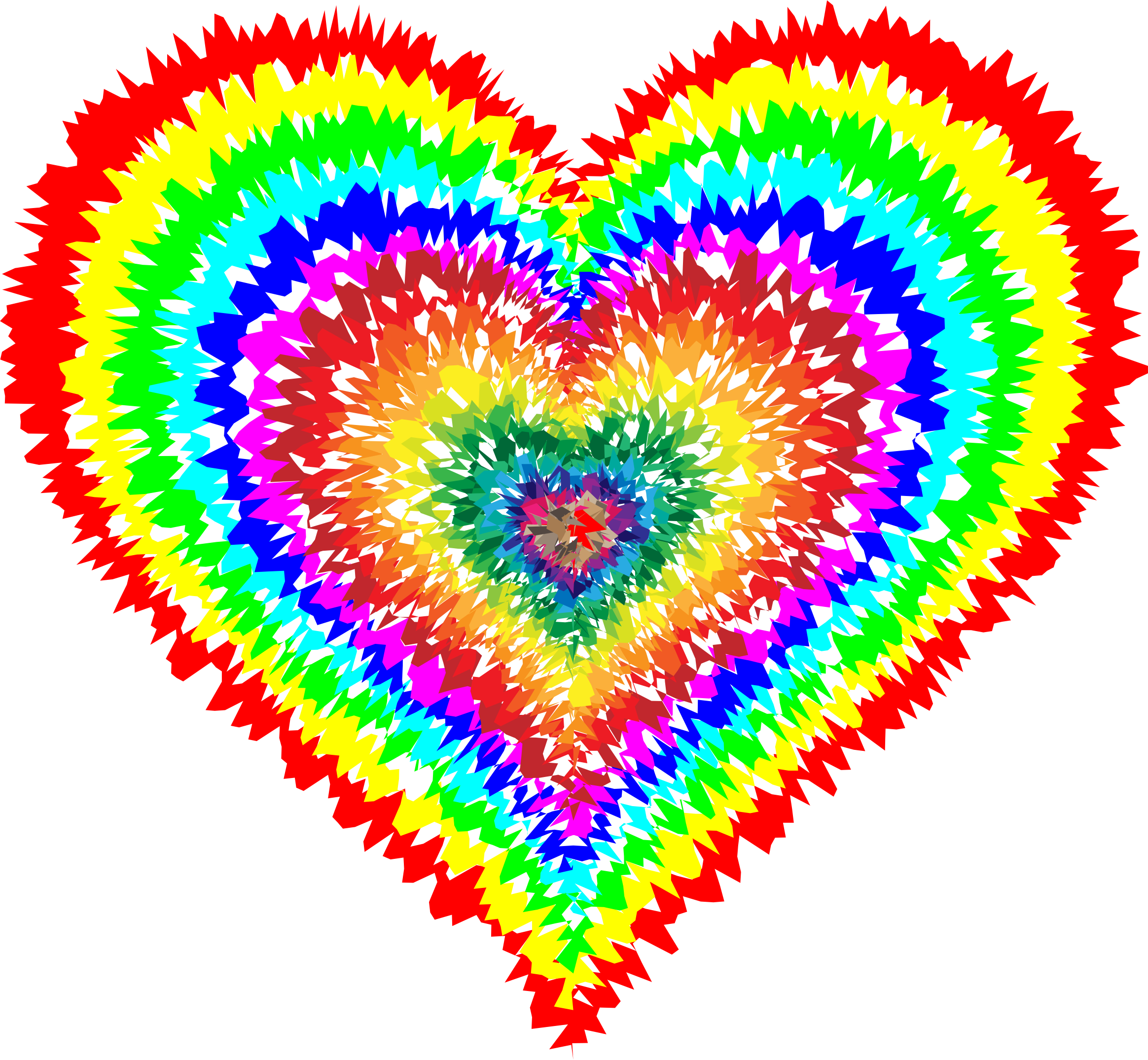 Tie dye heart clipart clip art transparent library Clipart - Tie Dye Heart | Look at all the pretty colors. | Pinterest ... clip art transparent library