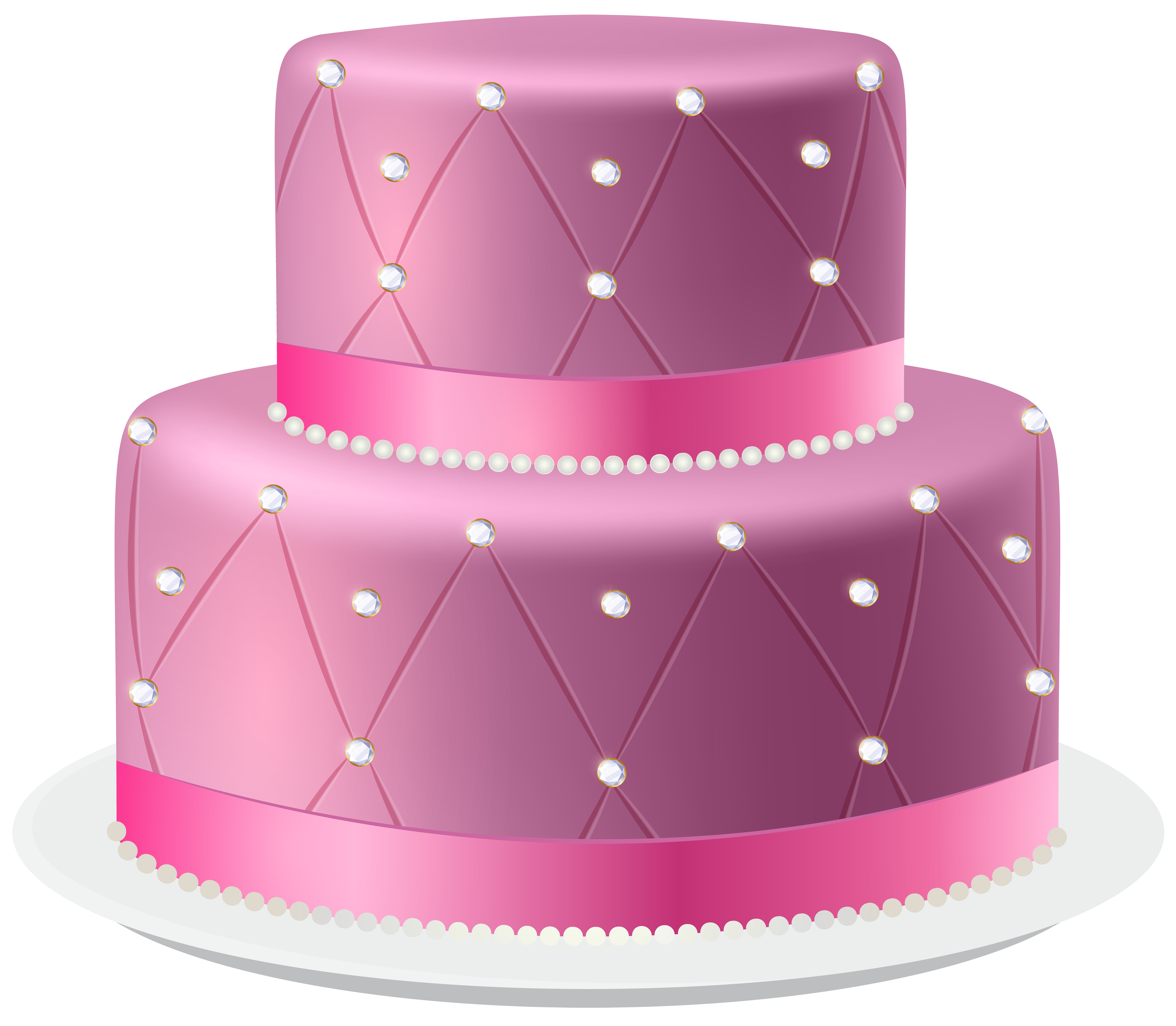 Heart cake clipart clip free Pink Cake PNG Clip Art Image | Gallery Yopriceville - High-Quality ... clip free