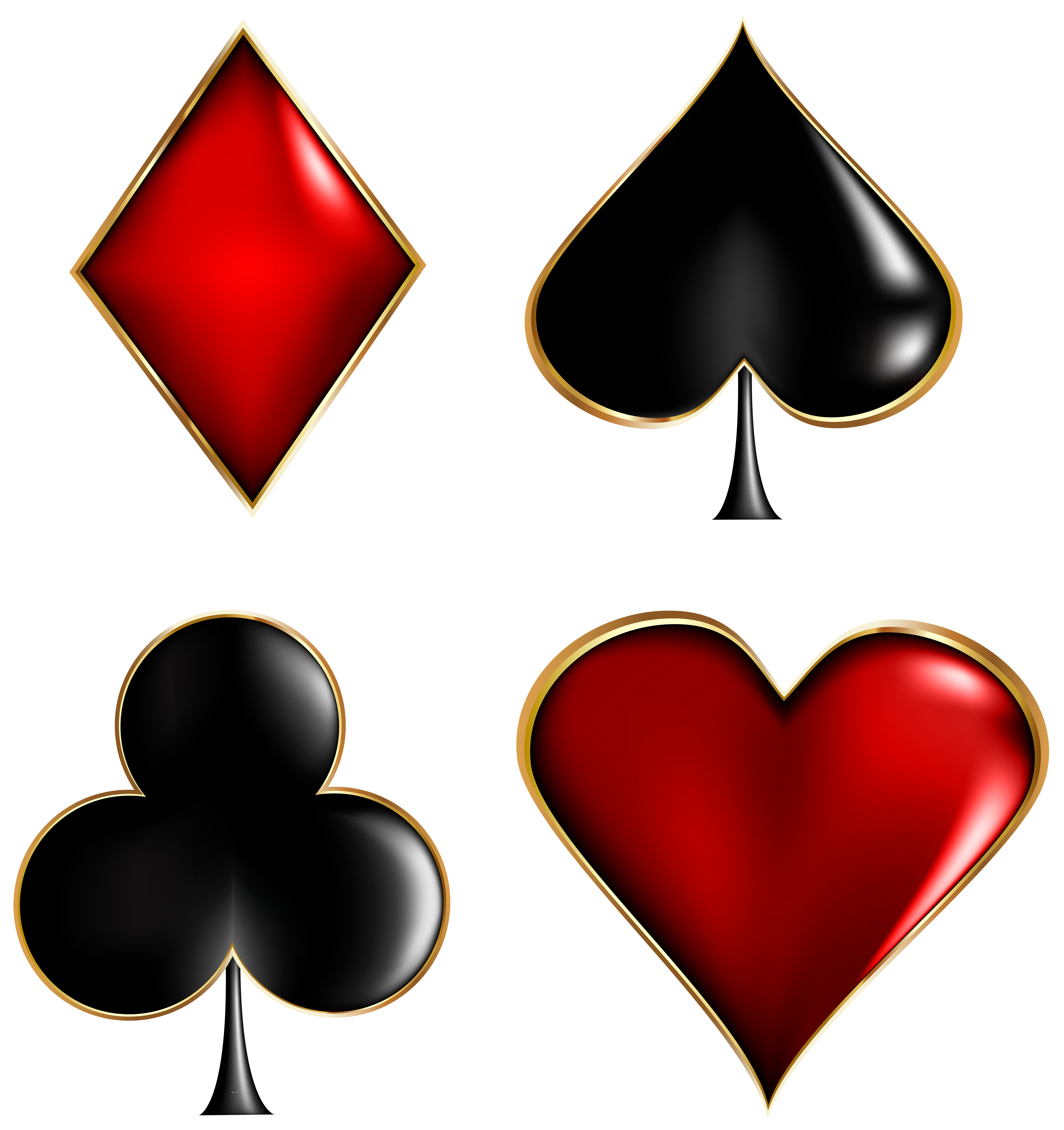 Heart card clipart jpg royalty free stock Card Suits Transparent Clip Art Image | Gallery Yopriceville - High ... jpg royalty free stock
