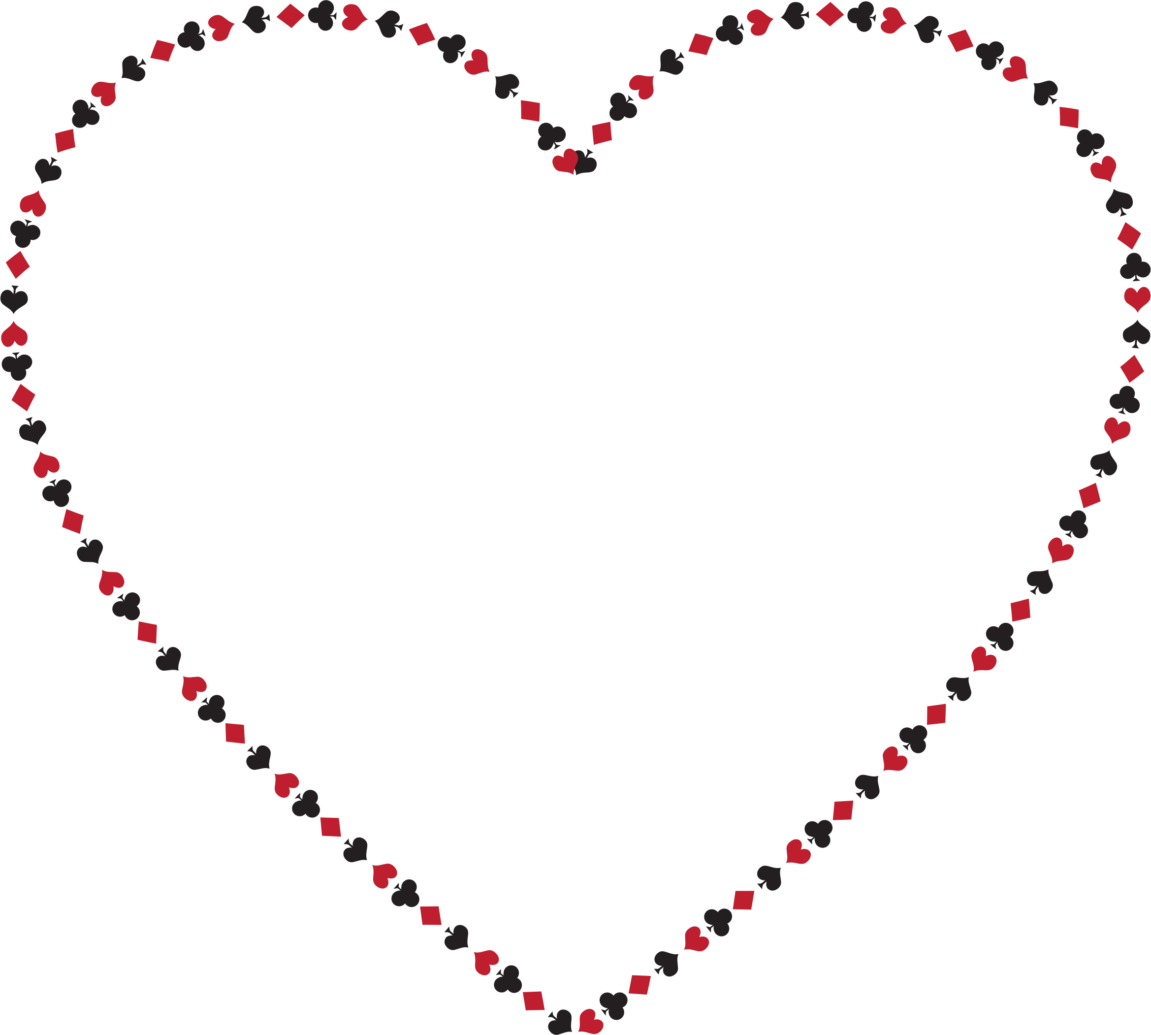 Heart card clipart clipart download Clipart - Card Suits Heart clipart download