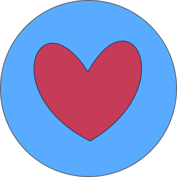 Heart circle clipart png royalty free stock Heart In Circle Green Clip Art at Clker.com - vector clip art online ... png royalty free stock