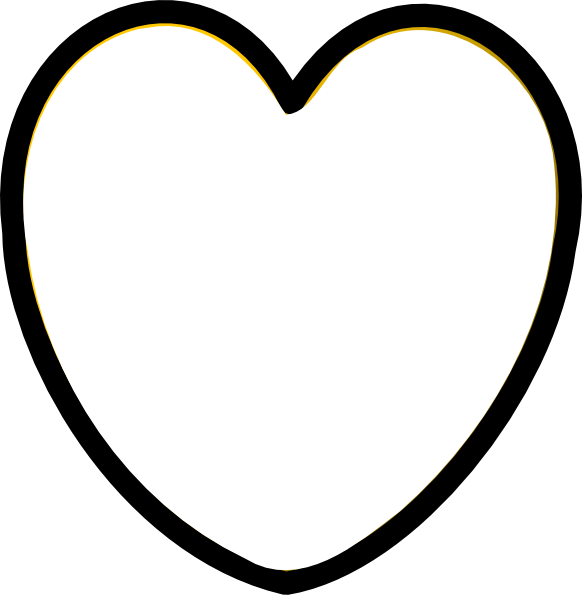 Heart clipart black and white png clipart free stock Heart Black And White Clip Art at Clker.com - vector clip art online ... clipart free stock