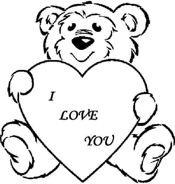 Heart clipart for kids black and white free download Kids valentine clipart black and white 4 » Clipart Portal free download