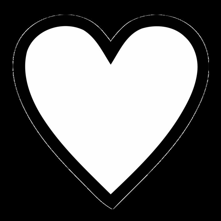 Heart inside a heart clipart image royalty free Heart No Background - Cliparts.co image royalty free