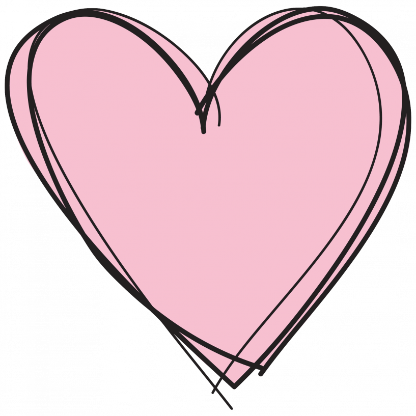 Heart clipart transparent background png library download Pink Heart Clipart No Background | jokingart.com Heart Clipart png library download
