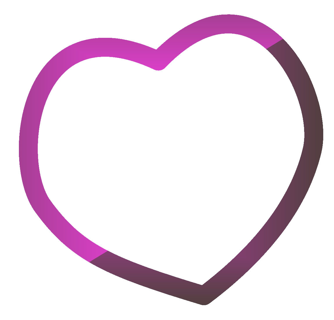 Heart clipart png transparent free stock Frame Heart Transparent PNG Pictures - Free Icons and PNG Backgrounds free stock