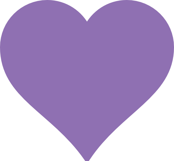 Heart clipart purple svg free download Purple Heart Clip Art at Clker.com - vector clip art online, royalty ... svg free download