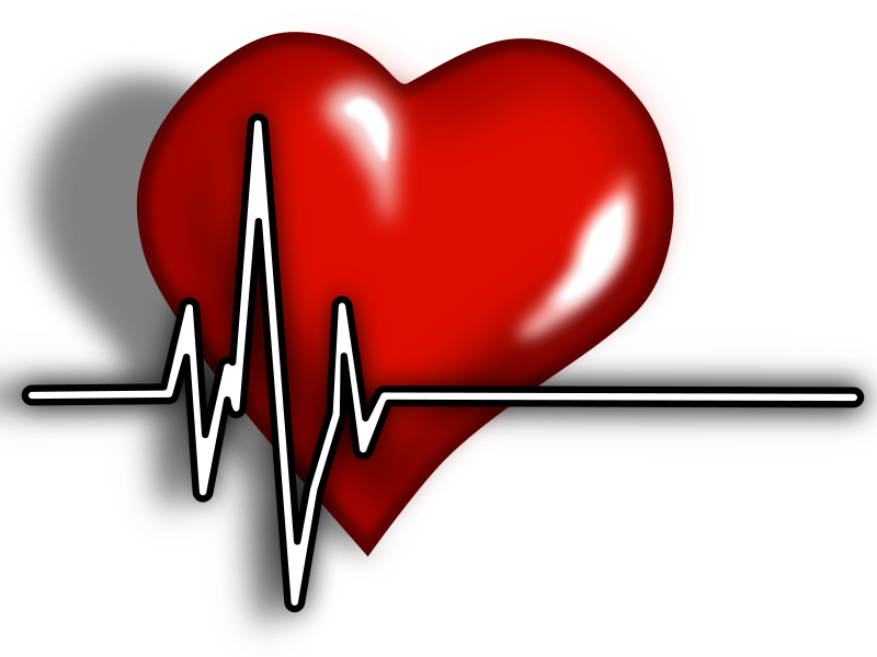Heart clipart science clipart library Clipart - Heart ECG Logo clipart library