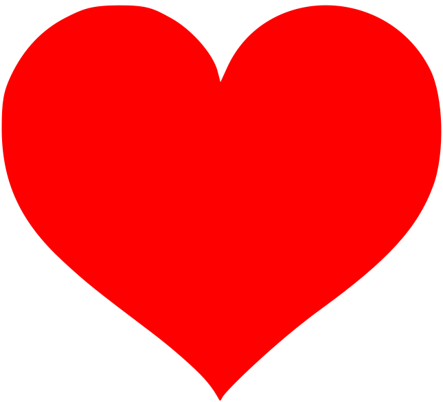 Heart clipart svg vector royalty free File:Love Heart SVG.svg - Wikimedia Commons vector royalty free