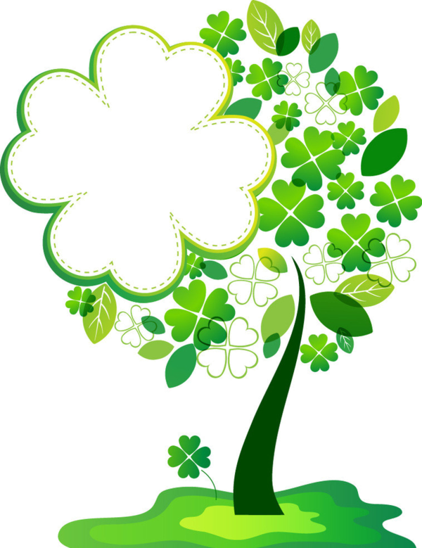 Heart clover clipart clip art free stock arbre,png | Pinterest | Leaf clover, Leaves and Saints clip art free stock