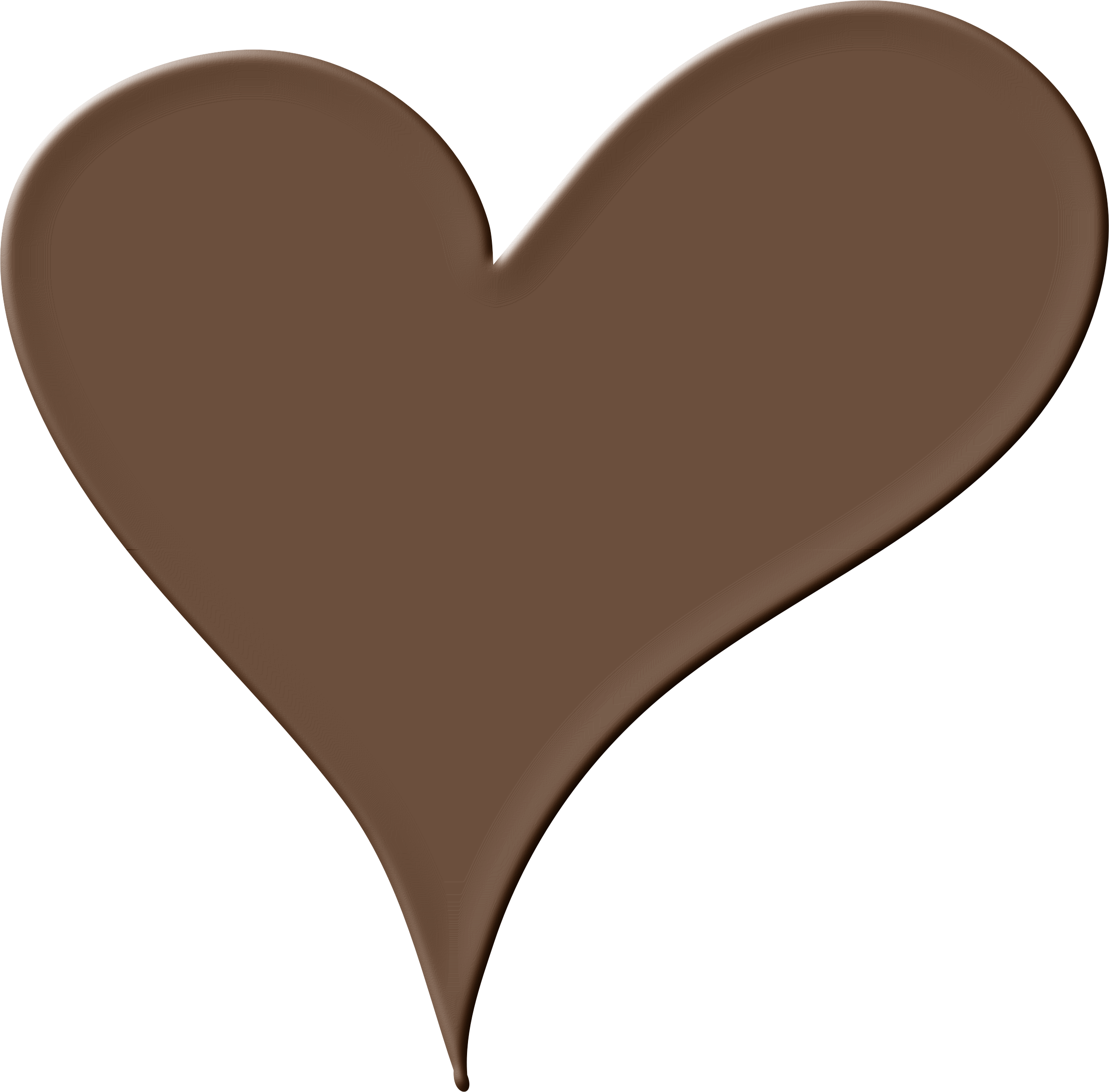 Heart cocoa clipart png library HD Chocoheart Clip Art Chocolate - Chocolate Heart Png ... png library