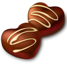 Heart cocoa clipart png royalty free library Chocolate Heart Clipart png royalty free library
