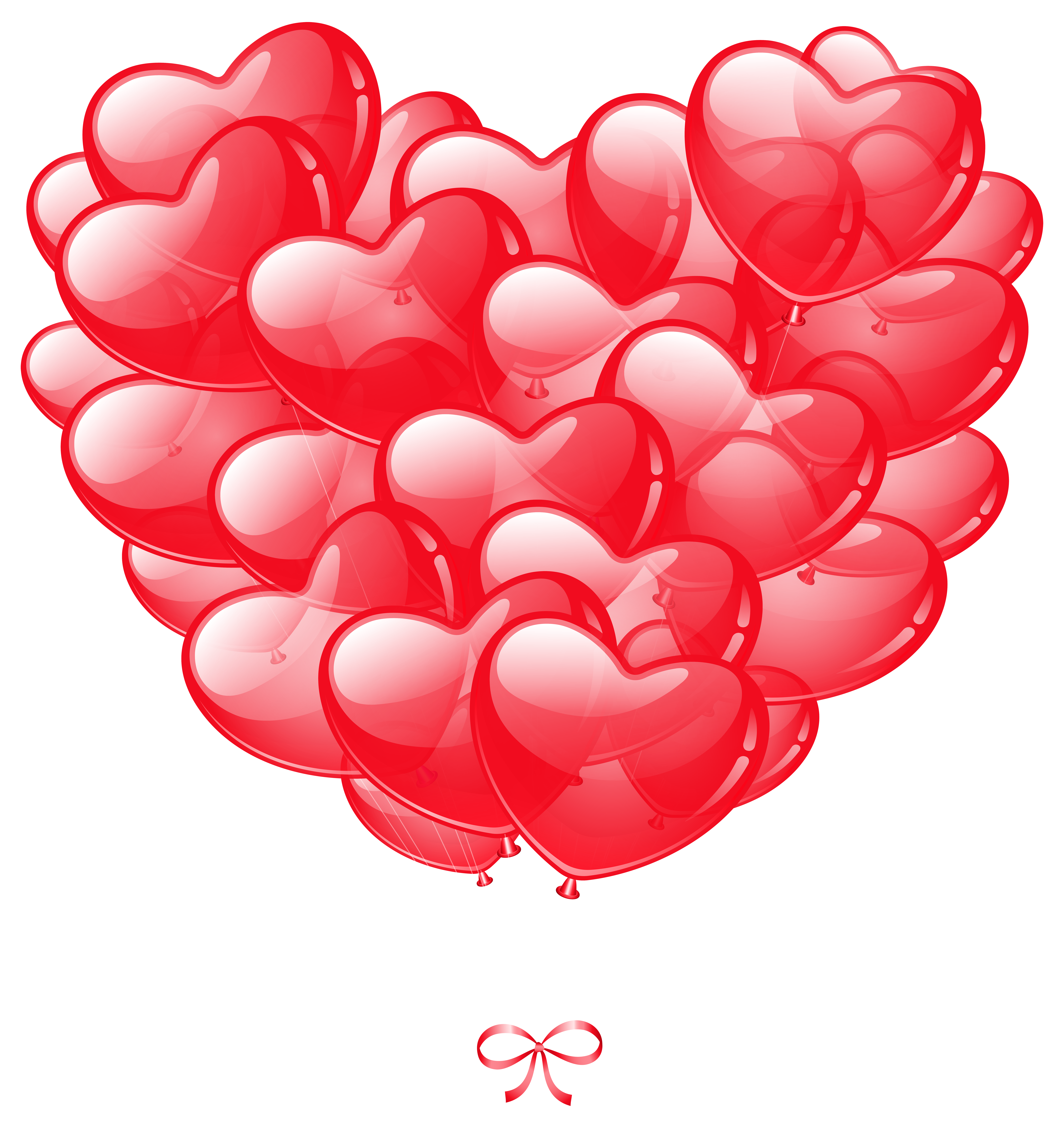 Shattered heart clipart clip library stock Transparent Heart Balloons PNG Image | Gallery Yopriceville - High ... clip library stock