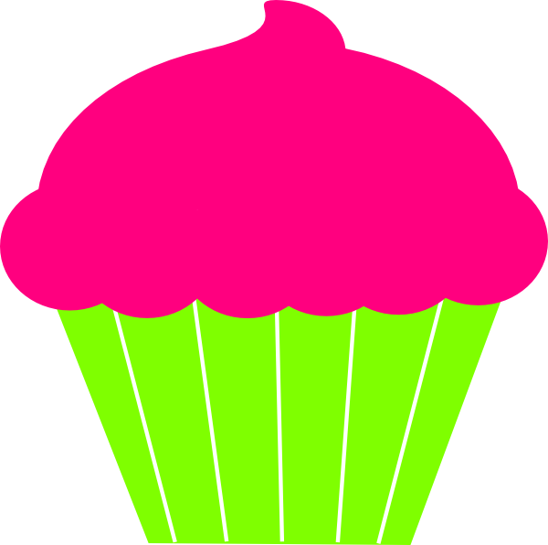 Heart cupcake clipart picture royalty free download Cupcake Clip Art at Clker.com - vector clip art online, royalty free ... picture royalty free download