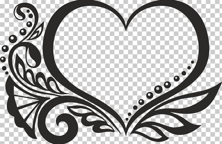 Heart decorative ornaments clipart black and white vector download Decorative Arts Heart Ornament Poster PNG, Clipart, Art ... vector download