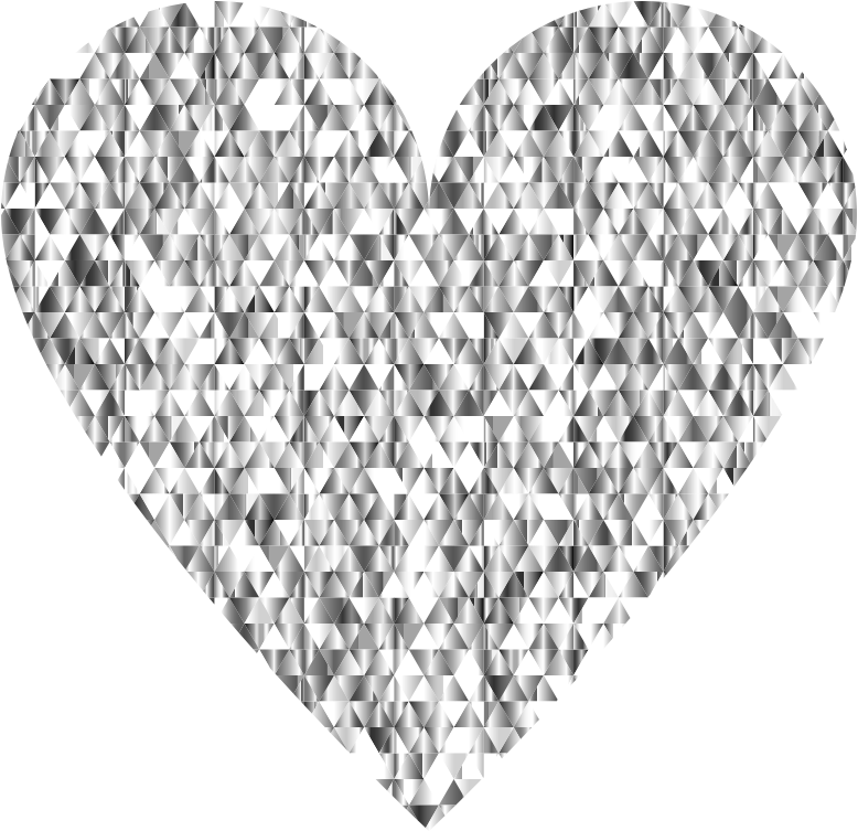 Heart diamond clipart picture royalty free Clipart - Diamond Gemstone Heart No Background picture royalty free