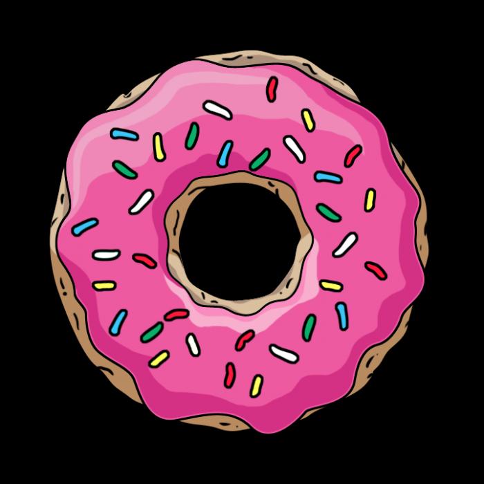 Heart donut clipart png royalty free download Картинки по запросу пончик рисунок | diy | Pinterest png royalty free download