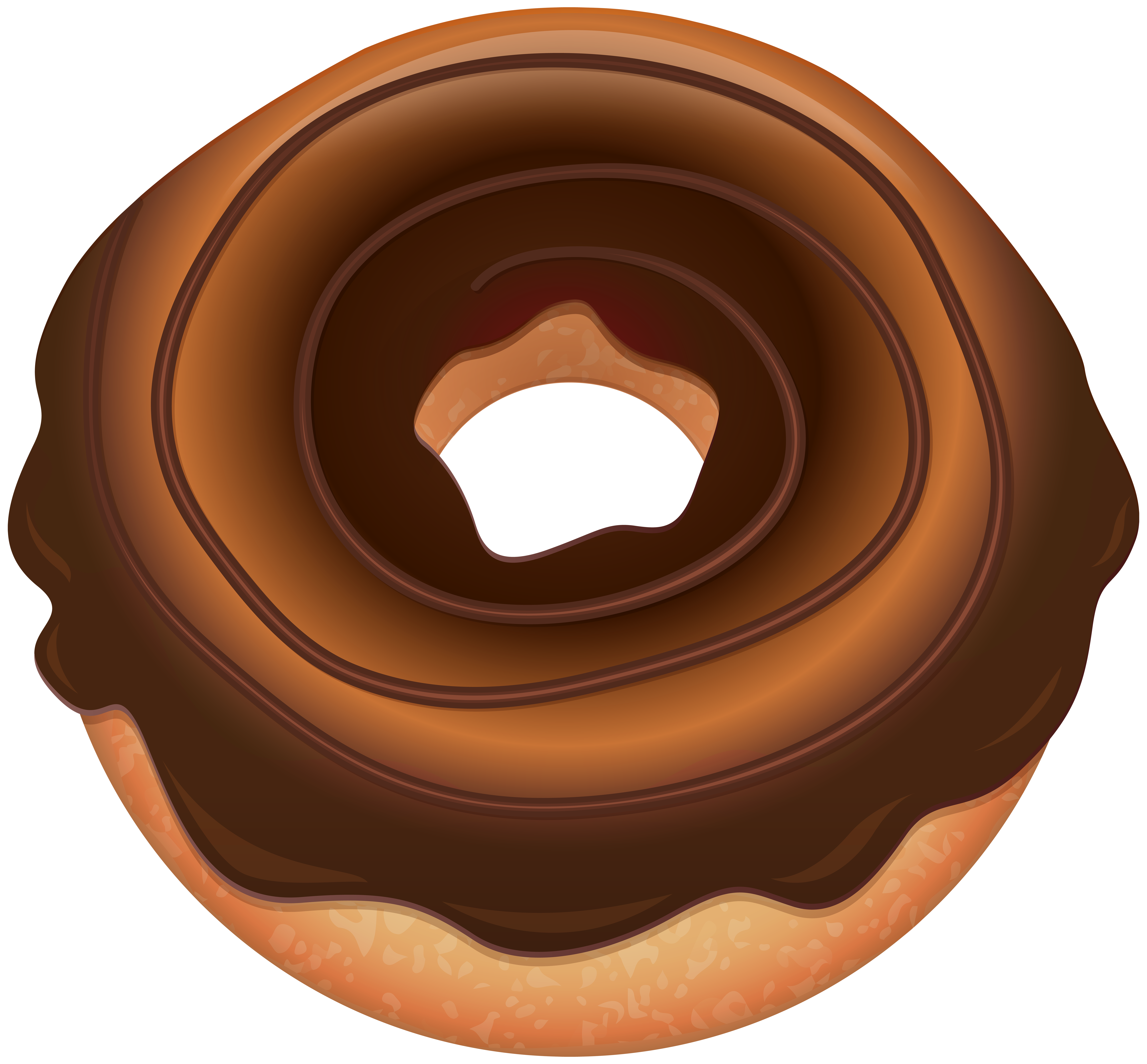 Heart donut clipart download Chocolate Donut PNG Clip Art Image | Gallery Yopriceville - High ... download