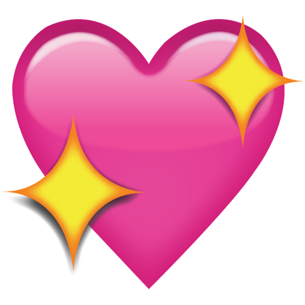 Peach emoji with crown clipart jpg freeuse library Sparkling Pink Heart Emoji - Add a romantic touch to your messages ... jpg freeuse library